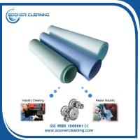 Buy cheap Sontara and Wypall replecment woodpulp and polyester spunlaced nonwoven fabric jumbo roll material from wholesalers