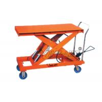 Buy cheap Twin Hydraulic Cylinder Lifting Table Equipment  , Industrial Scissor Lift Table from wholesalers