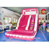 Buy cheap Backyard Inflatable Water Slides for kids , inflatable water park from wholesalers