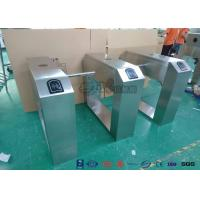 Buy cheap Pedestrian Turnstile Gate With ID/IC Reader Access Control Time Attendence System product