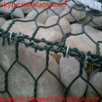 Buy cheap heavy galvanized gabion boxes/gabion basket /50x100mm mesh galfan welded gabion/hot dip galvanized flood barrier fence from wholesalers