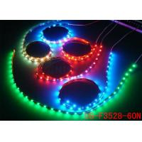 Buy cheap High Lumen IP44 Flexible Outdoor Led Strip Lights RGB with 3m Self Adhesive Tape from wholesalers