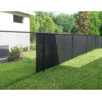 Buy cheap ASTM F668 standard PVC coated chain link fence with posts and installing fittings with RAL 6005 green colour from wholesalers
