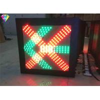 Buy cheap Red Cross Green Arrow Traffic LED Display Traffic Warning Signal Light 400*400 from wholesalers