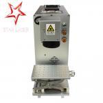 Buy cheap Non Metal Serial Number Engraving Machine , 30 W Fiber Laser Marking Machine from wholesalers