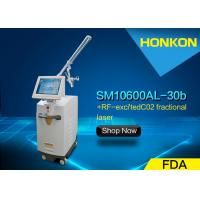 Buy cheap Portable 30W CO2 Fractional Laser Stretch Mark Removal Large Pores Treatment Machine from wholesalers