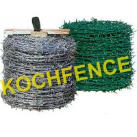 Buy cheap Stainless Steel Barbed Wire Fence Simple Structure Oxidation Resistant from wholesalers