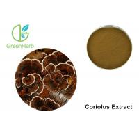 Buy cheap Coriolus Extract Mushroom Polysaccharides Transforming Phlegm Customized from wholesalers