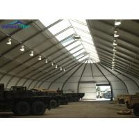 Buy cheap Metal Frame Aircraft Hangar Tent / TFS Tent With Aluminum Alloy 6061/T6 from wholesalers