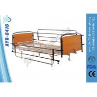 Buy cheap Full Length Stainless Steel Side Rails Nursing Home Beds With Mesh Bed Frame from wholesalers