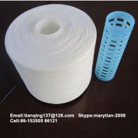 Buy cheap 100% spun polyester sewing thread TFO semi-dull 44s/2 from wholesalers