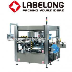 China L-150 Round Bottle Labeling Machine , Label Applicator Machine For Bottles on sale