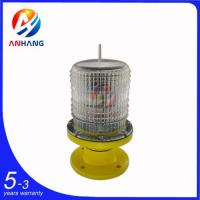 Buy cheap AH-LS/P Low-intensity Solar-Powered Aviation Obstruction Light from wholesalers