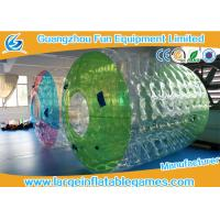 Buy cheap Water Roller Inflatable Wheel Ball , Inflatable Hamster Wheel for Humans from wholesalers