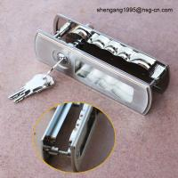 Buy cheap Sliding Door Lock Handle Decorative Zinc Alloy Sliding Door Key Lock / Handle from wholesalers