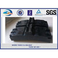 Buy cheap Low Friction Train Wheel Composite Brake Block Cast Iron / Locomotive Brake Shoe from wholesalers