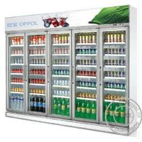 Buy cheap OP-A404 Digital Temperature Display Five Glass Doors CFC Free Supermarket Fridge from wholesalers