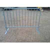Buy cheap Round Tube Crowd Safety Barriers / Crowd Control Fencing For New Zealand product