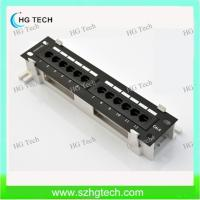 Buy cheap 12 Port Cat5E Patch Panel from wholesalers