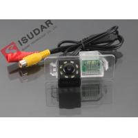 Buy cheap 8 LED HD CCD Night Vision Backup Camera , Volkswagen Polo Reverse Camera product