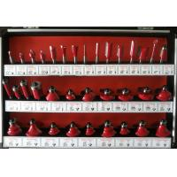Buy cheap TC-035B Red Colour 6mm Shank 35PCS TCT Router Bit Set For Hand Hold Router Machine from wholesalers