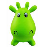 Buy cheap Kids Animal Space Hopper Inflatable Cow Ride On Bouncy Play Toys Xmas Gift product