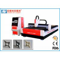 Buy cheap 1KW CNC Fiber Laser Cutting Machine with IPG Coherent  Raycus Fiber Laser Source from wholesalers