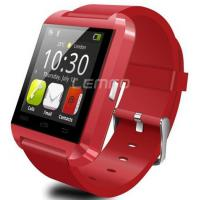 Buy cheap 2015 Luxury Bluetooth Smart Watch Wrist Wrap Watch Phone for IOS android red from wholesalers