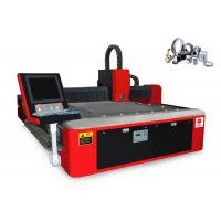 Buy cheap Metal Fiber CNC Laser Cutting Machine For 5mm Carbon / Stainless Steel from wholesalers
