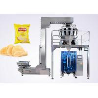 Buy cheap Puffed Food VFFS Packaging Machine for Potato Chips with Electronic Multi-head Weigher from wholesalers