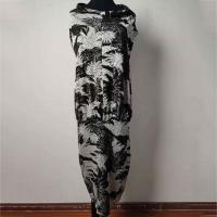 Buy cheap Sleeveless Loose Fit Jacquard Knee Length Summer Dresses Customization Support product