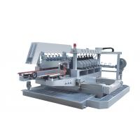 Buy cheap 14 Spindles CNC glass beveling machine For Industry Processing , 380V 50Hz from wholesalers