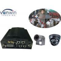Buy cheap 4CH SSD Hard Drive 3G sim card Mobile DVR 1080P with Alarm system from wholesalers