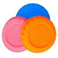 Buy cheap round  shape silicone tray mold ,customized  silicone cake  mold ,flower silicon cake mold product