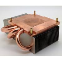 Buy cheap 120W Aluminum Fin Copper Pipe Heat Sink For Computer Cooling from wholesalers