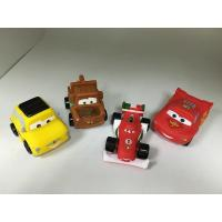 Buy cheap BPA free Vinyl Pullback Racer Cars toy, PVC Cars pull-back vehicle toy from wholesalers