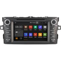 Buy cheap 1024 X 600 16GB Flash Toyota Radio GPS , Toyota Auris Stereo 2007 - 2012 from wholesalers