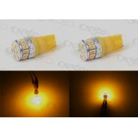 Buy cheap Energy Efficient Amber T10 LED Bulbs Map Light 12 Months Warranty from wholesalers