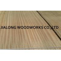 Buy cheap Sliced Sapele Natural Wood Veneer Sheet Quarter Cut For Doors And Plywood With AA Grade from wholesalers