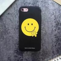 Buy cheap TPU IMD Black Edge Scrub Star Smile Face Cell Phone Case Cover For iPhone 7 6s Plus from wholesalers