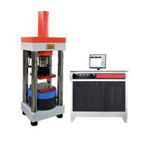 Buy cheap Electro-hydraulic Servo Compression Testing Machine, 1000kN, Computer controlled product