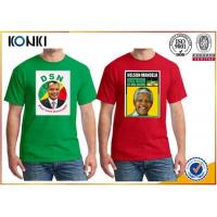 Buy cheap OEM Election Campaign Custom T Shirt 100% Cotton For Election Advertising from wholesalers
