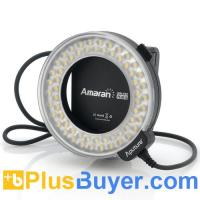 Buy cheap Apurture Amaran AHL-C60 - Macro LED Ring Light For Canon (60 LEDs, 6W, 8 Mounts) from wholesalers