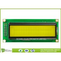 Buy cheap 16 * 2 COB Type LCD Character  Module , Monochrome Digital LCM Module from wholesalers