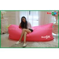 Buy cheap 260x70cm Nylon Hangout Waterproof Sleeping Sofa Air Bed For Selling With Logo Print from wholesalers