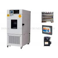 Buy cheap Air Compressor Thermal Shock Test Chamber , Constant Climate Chamber 80L - 1000L Inner Volume from wholesalers