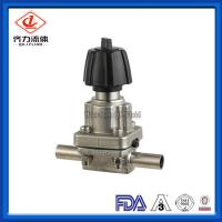 Buy cheap Sanitary Stainless Steel 316L  Mini Type Diaphragm Valves With Welding Ends from wholesalers