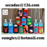 koozie,koozies,neoprene can cooler,neoprene cooler,bottle cooler jacket,water bottle tote,