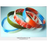 Buy cheap Hot sell silicone bracelets for promotion from wholesalers