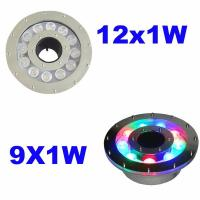 Buy cheap Dmx Control 316 Stainless Steel Led Pool Fountain Lights IP68 Waterproof from wholesalers